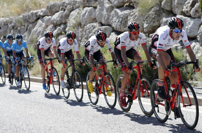 Imagen del BURGOS-BH de ciclismo