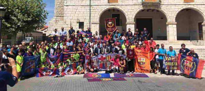 Encuentro peñas_Barça_CYL