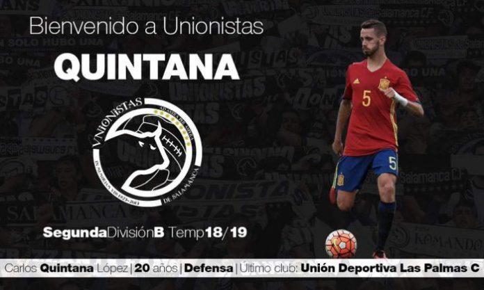 Quintana Fichaje Unionistas Salamanca