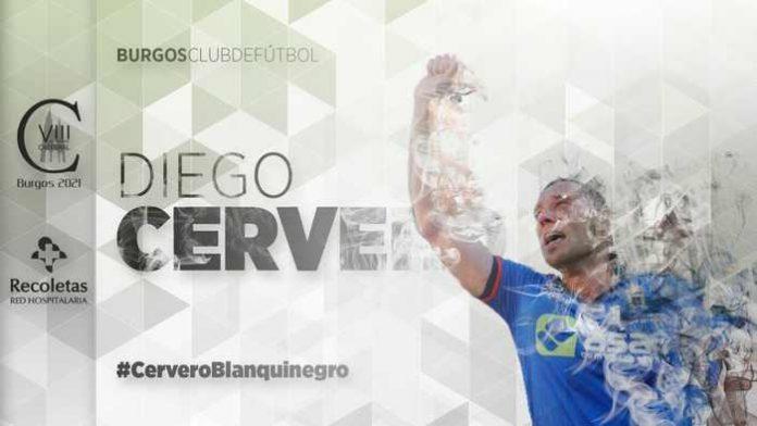 Cervero ya es jugador del Burgos CF