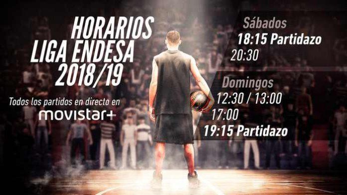 Horarios de la liga ACB