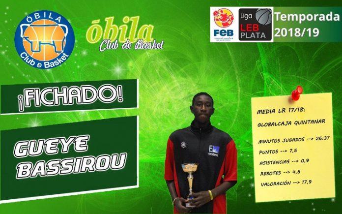 El Óbila Club de Basket y Bassirou Gueye