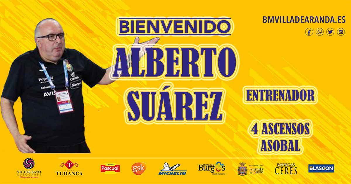 Alberto Suárez, nuevo entrenador del @BMVillaAranda
