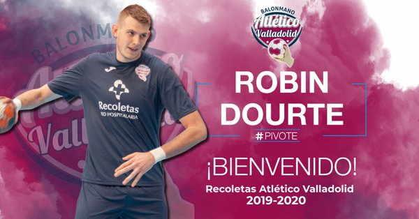 Robin Dourte, jugador del Atlético Valladolid